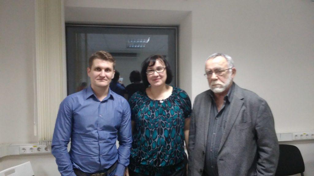 Павел Еремеев и Виктор Каган